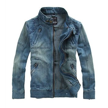 Mens Denim Jean Jacket