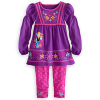 Disney Anna Knit Dress and Leggings Set for Girls - Frozen | Disney Store