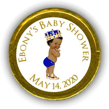 Prince Baby Shower Chocolate Coins