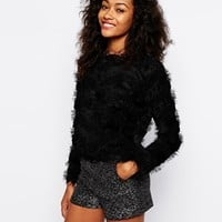 Vero Moda Hairy Stripe Sweater