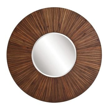 Walden Wood Plank Mirror