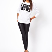 River Island | River Island Coated Jegging at ASOS