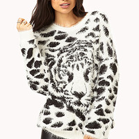 Fuzzy Tiger Sweater