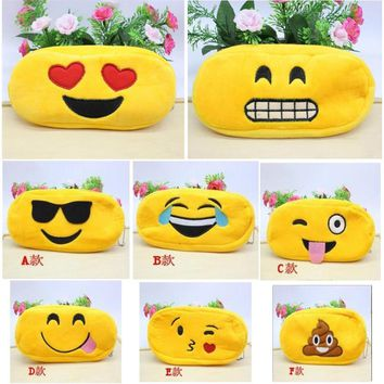 Plus Emoji Pencil Case (8 Options)