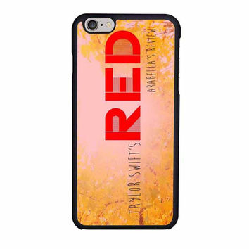 taylor swift red iphone 6 6s 4 4s 5 5s 6 plus cases
