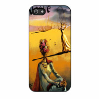 Salvador Dali Woman With Flower Head Vogue iPhone 5s Case