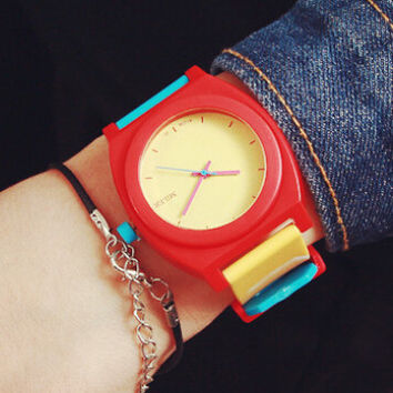 Womens Sports Silicone Watch Gift 525