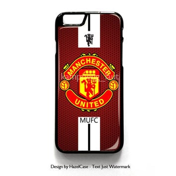 Manchester United for iPhone 4 4S 5 5S 5C 6 6 Plus , iPod Touch 4 5  , Samsung Galaxy S3 S4 S5 Note 3 Note 4 , and HTC One X M7 M8 Case Cover