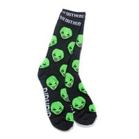 We Out Here Socks (Charcoal Heather)