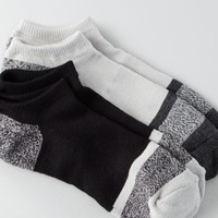 AEO 's Flex Low Cut Black/grey 2-pack Socks (Black)