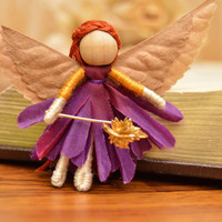 Woodland Fairy Doll - woodland fairy, woodland fairies, flower fairy doll, flower fairy, waldorf fairy doll, waldorf fairies, waldorf fairy