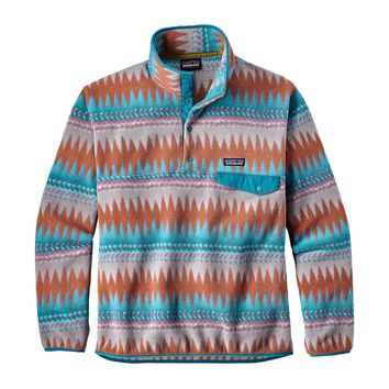 Patagonia, Men's Lightweight Synchilla Snap-T Fleece Pullover, Laughing Waters: Filter Blue
