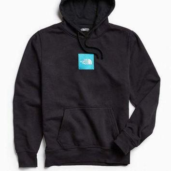 DCCKBWS The North Face Embroidered Box Logo Hoodie Sweatshirt | Urban Outfitters