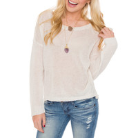 Joleen Knit Top - Ivory
