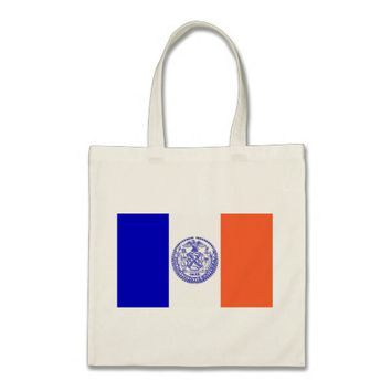 Bag with Flag of New York City - USA