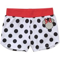 Minnie Mouse Baby Toddler Girl Shorts - Walmart.com