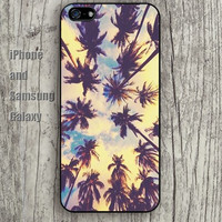 Big trees in the sky colorful iphone 6 6 plus iPhone 5 5S 5C case Samsung S3,S4,S5 case Ipod Silicone plastic Phone cover Waterproof