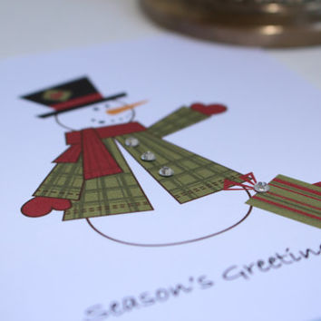 Christmas Cards - Holiday Cards - Christmas Card Set - Holiday Card Set