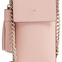 kate spade new york pebbled leather phone crossbody bag | Nordstrom