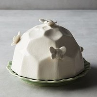 Honeybee Butter Dish by Anthropologie in Green Size: Butter Dish Kitchen