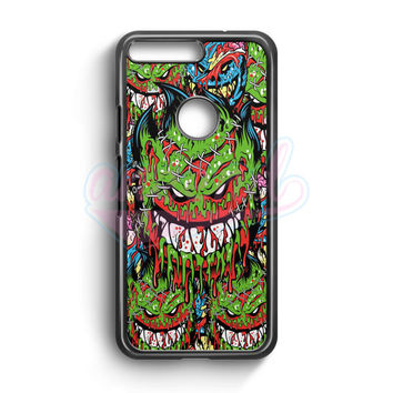 Spitfire Monster Skateboard Wheels Google Pixel Case | aneend.com