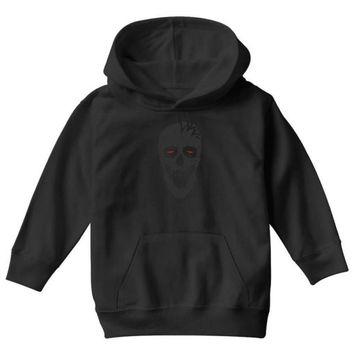 skull triangle Youth Hoodie