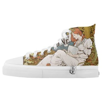 century magazine High-Top sneakers