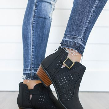 Road Trip Booties - Black