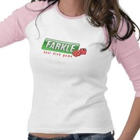FARKLE - best dice game Tshirts from Zazzle.com