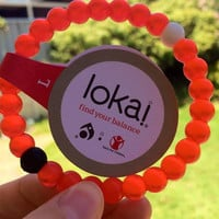 Big Sale  On New Arrival  Lokai Bracelet Red Best for the gift
