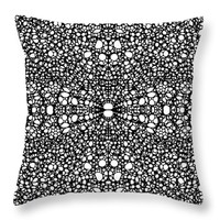 """Pattern 26 - Intricate Exquisite Pattern Art Prints Throw Pillow 14"""" x 14"""""""