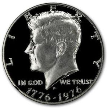 1976-S 40% Silver Kennedy Half Dollar Gem Proof
