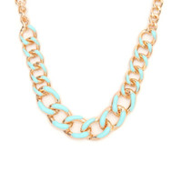 With Love From CA Mint Chain Necklace at PacSun.com