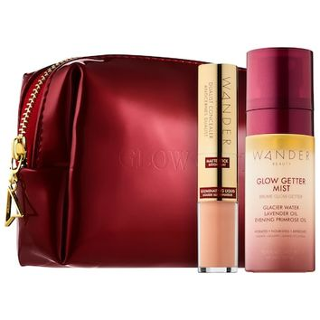 Unplug & Let Glow Customizable Complexion Set - Wander Beauty | Sephora