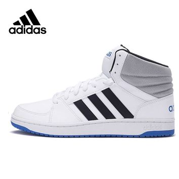 Original Official Adidas NEO Men's High Top Hard-Wearing Skateboarding Shoes Sneakers Outdoor Sports Brand Designer Good AW4586