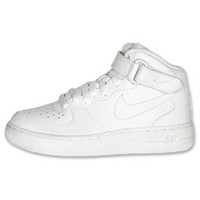 Boys' Grade School Nike Air Force 1 Mid Casual Shoes