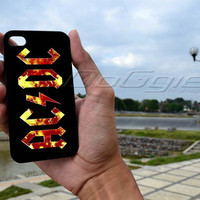 acdc  - iPhone 4 Case ,iPhone 5 case,samsung galaxy S2, s3 and Samsung galaxy s4 Hard Plastic Case