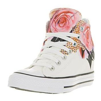 Converse Women's Chuck Taylor All Star Lux White/Pink/Black (554454C)