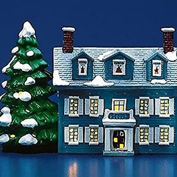 Department 56 Snow Village Williamsburg House 50466 Year 1986