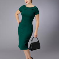 Elise Vintage Inspired Pencil Dress  - Custom Sizing