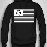 Bull-shirt.com XO The Weeknd USA Flag Hoodie Bull-shirt.com