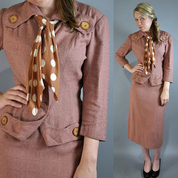 paul sachs original 40s new look MAD MEN by rockstreetvintage