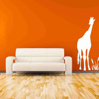 Tall Giraffe Vinyl Decals Nursery D.. on Luulla