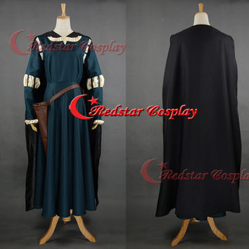 New Design - Merida Cosplay, Merida Costume, Merida Dress, Brave Merida Dress, Merida Brave Costume, Adult Merida Costume