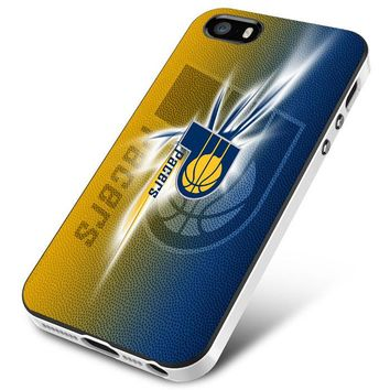Indy Pacers (logo texture) iPhone 5 | 5S | 5SE Case Planetscase.com