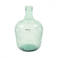 Recycled Glass Jug Vase