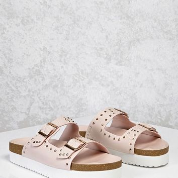 Buckle Studded Sandals