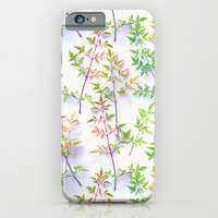 Leaves in the Light iPhone & iPod Case by Micklyn