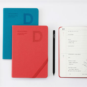 2016 Ardium Simple D dated daily journal scheduler