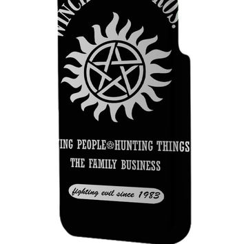 Best 3D Full Wrap Phone Case - Hard (PC) Cover with Winchesters Bros Design